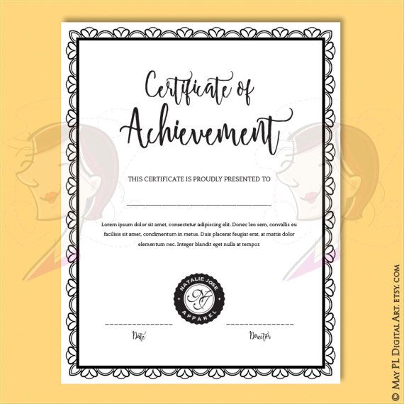 17 Best Ideas About Make Your Own Certificate On Pinterest