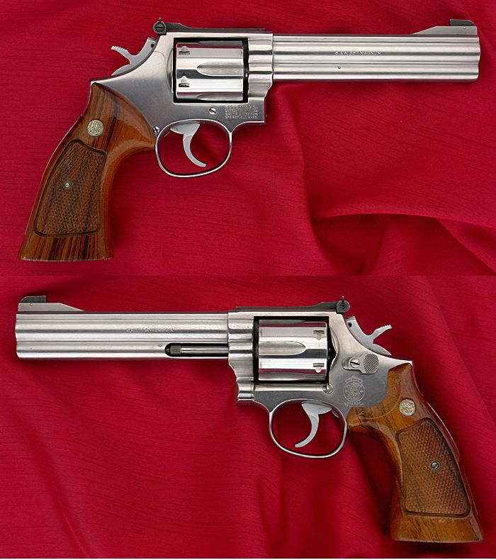 .357 Magnum Smith And Wesson double-trouble