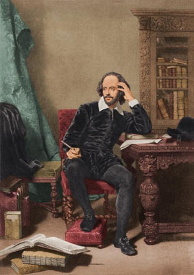 Best known as a playwright, William Shakespeare (1564-1616) was also a successful poet. He is often referred to as England's national poet, and his surviving works include 154 sonnets, two long narrative poems and several other poems.
