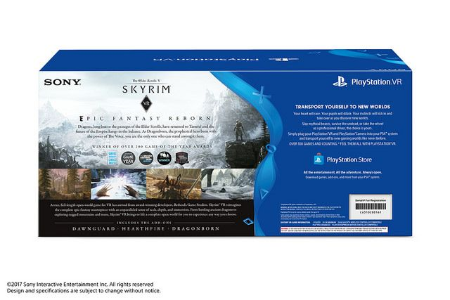 Learn about PlayStation VR Skyrim Bundle Announced http://ift.tt/2hfCIch on www.Service.fit - Specialised Service Consultants.