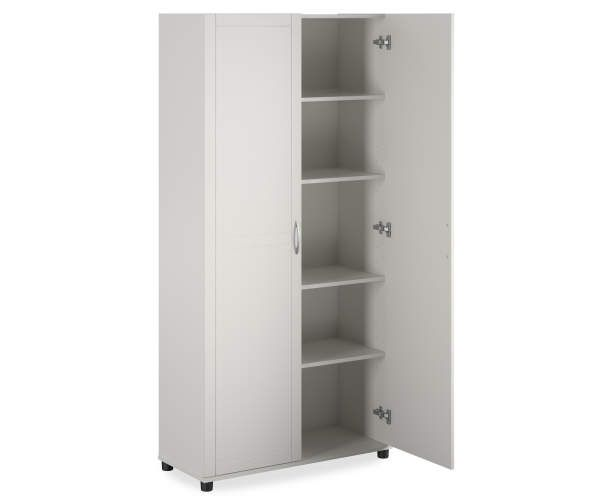 System Build Selden White Utility Storage Cabinet In 2020