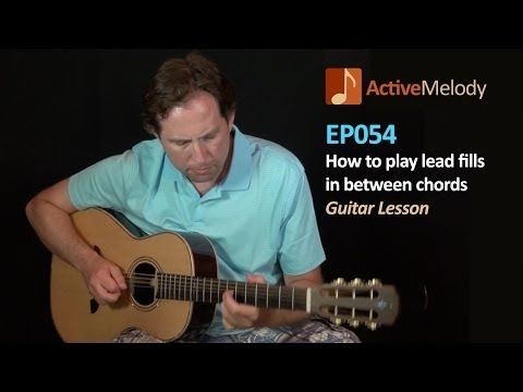▶ How to play lead fills between chords - Guitar Lesson - Filler licks - EP054 -