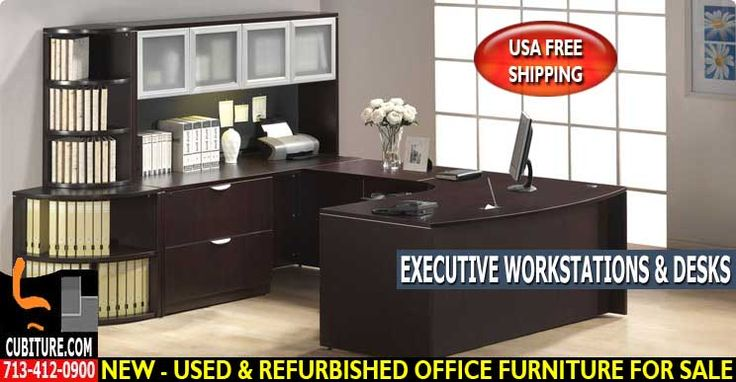 Executive Office Desks By The Leading Manufacturer Of New, Used & Refurbished Office Workstations Furniture Cubicles & Workstations.