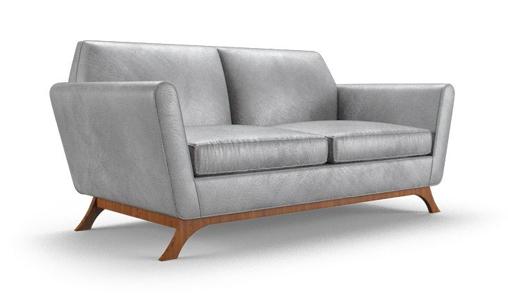 Hyland Leather Loveseat