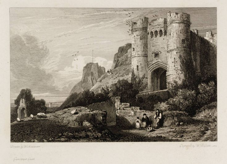 After William Alexander, Carisbrook Castle 1814.