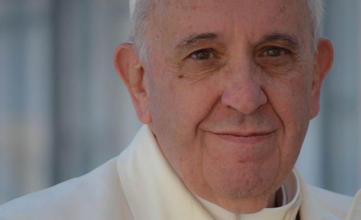 La mirada serena del #PapaFrancisco  Foto: Daniel Ibáñez/ ACI Prensa