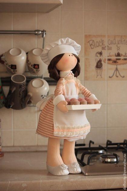 Интерьерная текстильная кукла - кукла,кукла ручной работы,кукла в подарок