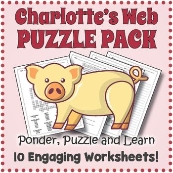 Charlotte's Web Puzzle Pack