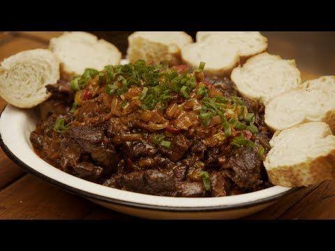 (47) Osobuco Ahumado al Vino Tinto con Salsa Picante - Receta de Locos X el Asado - YouTube