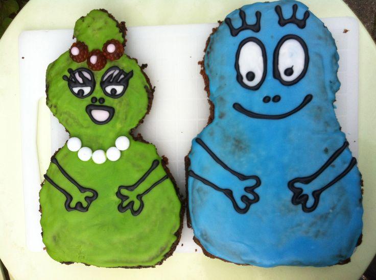 Barbapapa cakes