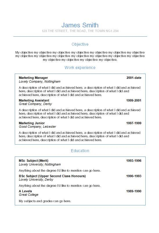 font to use in resumes