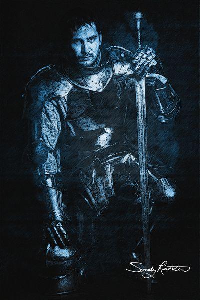 'Blue Knight' by Sandy Richter