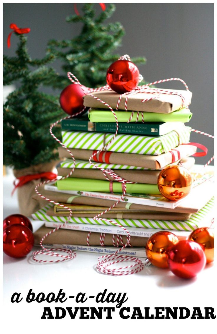 A very bookish Christmas countdown, using your family's favorite holiday books. An inexpensive and meaningful way to wait for Christmas. | Modern Mrs Darcy