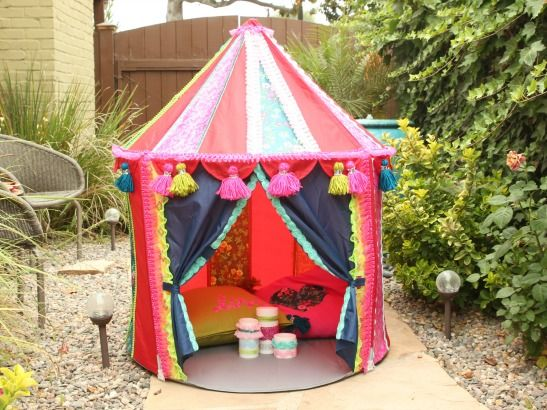 Cathie and Steve's new craft tutorial YouTube series. This week? DIY Ikea Hack: Kid's play tent!