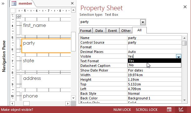 A Quick Tutorial On Forms In Microsoft Access 2013
