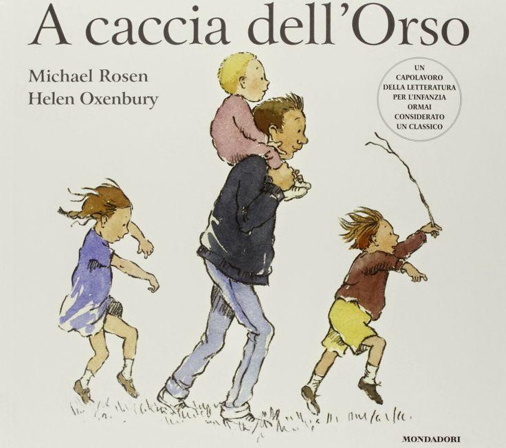 """Appuntamento con la lettura 0-3. Un bellissimo albo illustrato da non perdere! #acacciadellorso """"A caccia dell'Orso"""", M. Rosen, H. Oxenbury, Monda..."""