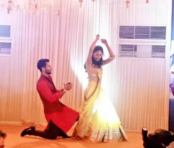Shahid Kapoor Mira Rajput Sangeet ceremony pictures