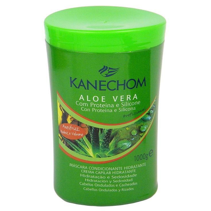 Kanechom Ultimate Aloe Vera Moisturizing and Conditioning Hair Treatment Cream (Brazilian Treatment) 35.2 Fl.Oz. ** You can find out more details at the link of the image.