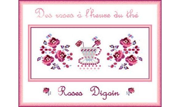 """Roses Digoin"" de Rouge Antique"