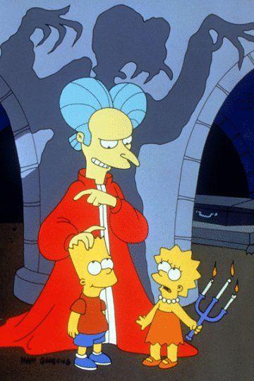 Halloween en Los Simpsons