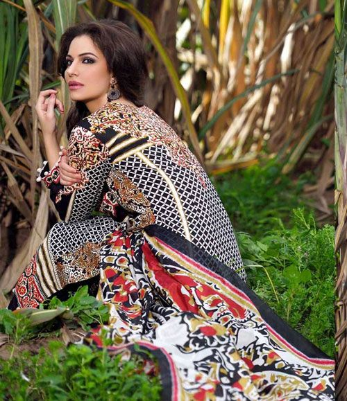 Gohar Embroidered Lawn Suits Collection G_17