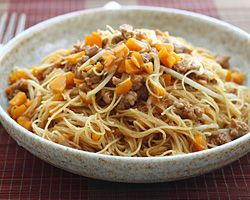 Fried Rice Vermicelli | Rice Noodles, Noodles and Rice