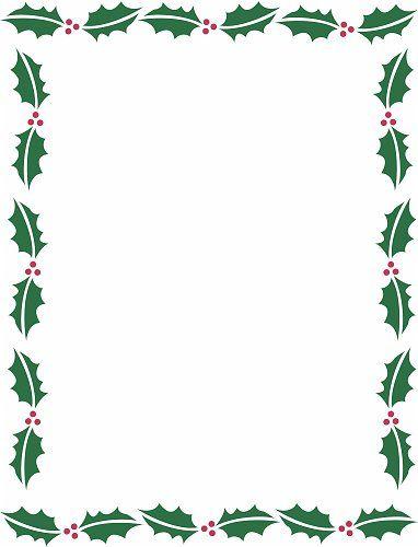 Holiday Borders For Microsoft Word | Christmas Backgrounds: Christmas Border Background, Free Christmas ...