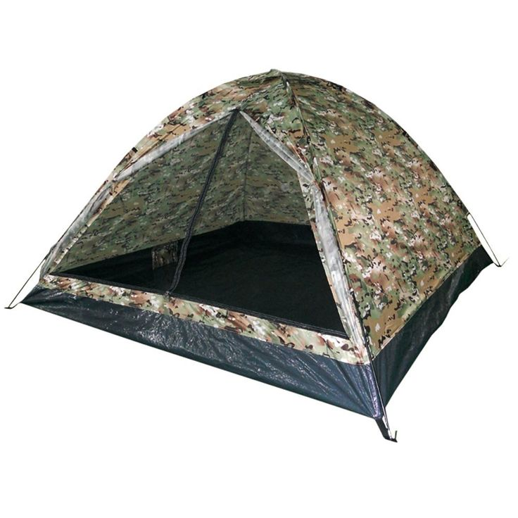 Mil-Tec Iglu Standard Two Man Tent Multitarn -- Find out more details by clicking the item shown here : Hiking tents