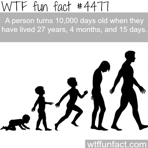 so you are 20,000 days old when you are 54 years, 8 months, and 30 days (or 9 months). ha. jh