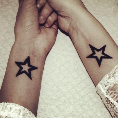Tattoo, stars!
