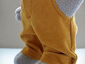 Шьём брюки с карманами для игрушки | Ярмарка Мастеров - ручная работа, handmade