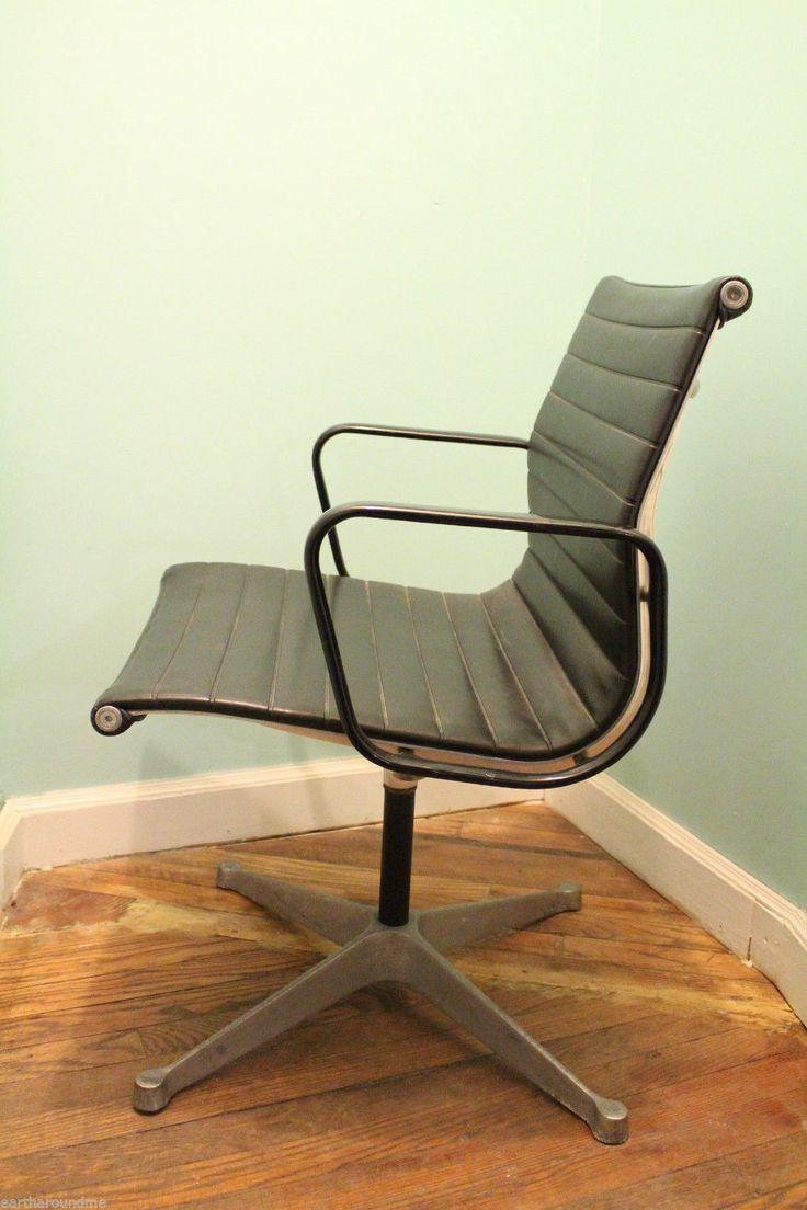 Marvelous Vintage Herman Miller Aluminum Office Chair 2 | EBay