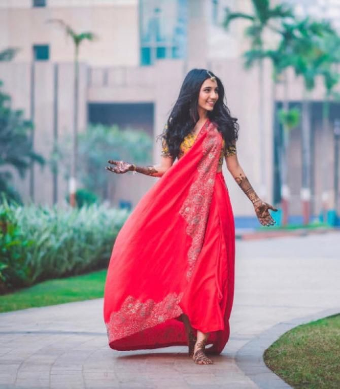 Fashion Blogger Masoom Minawala's Outfits For Her Wedding Celebrations Are Every Girl's Dream - BollywoodShaadis.com