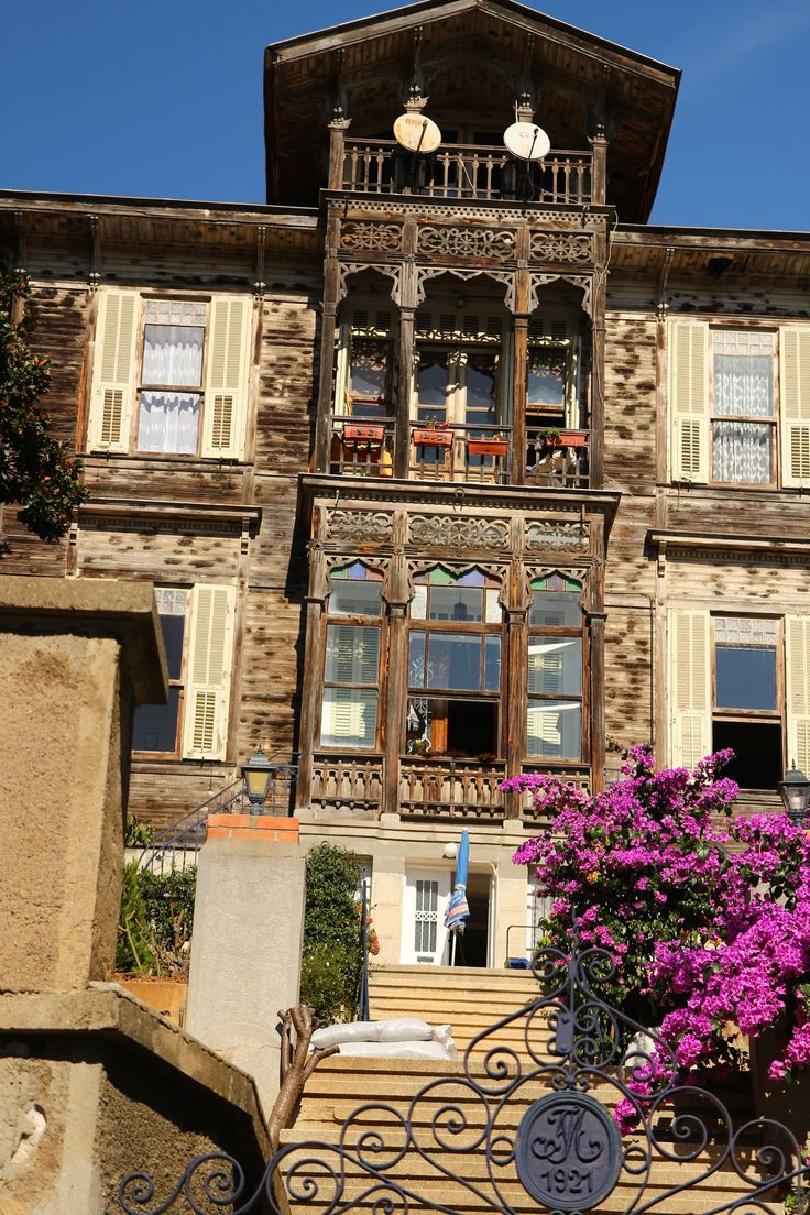 Heybeliada, one of the Princes Islands, Istanbul
