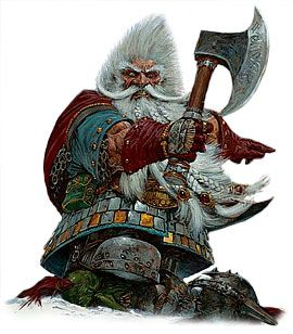 Dwarves are experts in combat, effectively using their environment and executing well-planned group attacks. They rarely use magic in fights, since they have few wizards or sorcerers (but dwarven clerics throw themselves into battle as heartily as their fellow warriors). If they have time to prepare, they may build deadfalls or other traps involving stone. In addition to the dwarven waraxe and thrown hammer, dwarves also use warhammers, picks, shortbows, heavy crossbows, and maces.