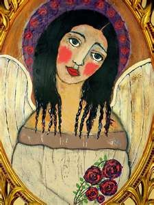 love this mexican folk art angel