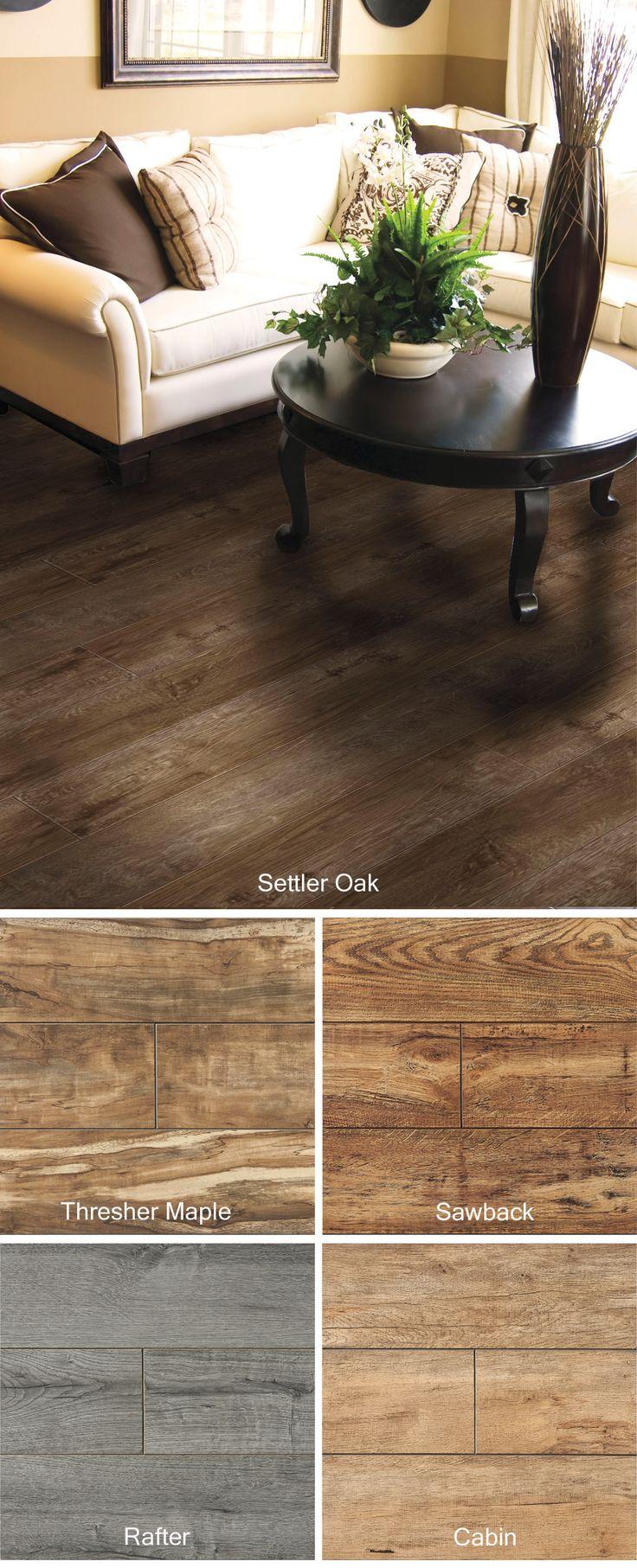 This Beautiful Heritage Settler Oak Laminate Flooring Is