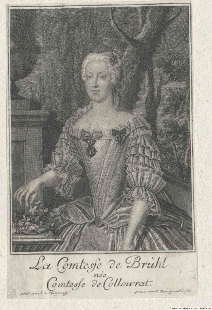 Brühl, Franziska Maria, Reichsgräfin von, geb. Gräfin Krakowsky von Kolowrat, 1717 - 1762