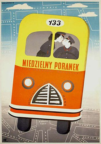"By  Eryk Lipinski, 1 9 5 3, ""One Sunday Morning"", Poland. Dir. Andrzej Munk."
