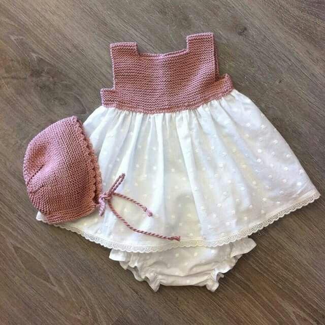 Vestidos tela y tejido
