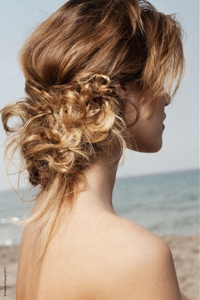 Stunning Casual Updo #hairstyles