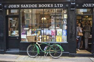 We are thrilled to be chosen forSlightly Foxed's 'Bookshop of the Quarter' feature. Here is the text: Bookshop of the Quarter:John Sandoe Books Few bookshops in London have the density of books, informed staff or seductive atmosphere to compare with John Sandoe's. It opened in Chelsea in 1957, and has recently expanded into the third of the Georgian cottages that make up its shop front. The intimate premises retain their striking atmosphere of bibliographic profusion:...
