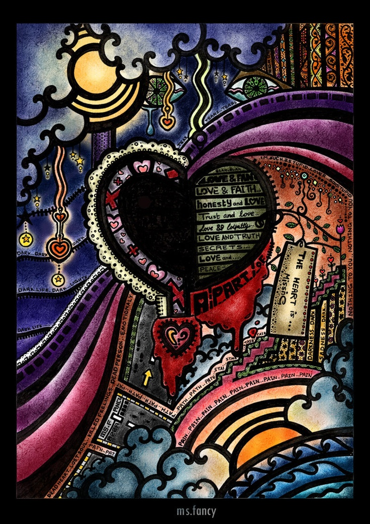 a part of the heart is missing by AzzahAbdulRahman.deviantart.com