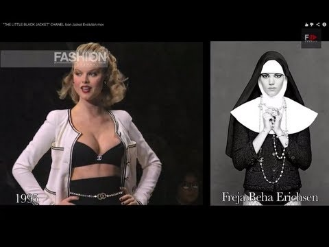 THE LITTLE BLACK JACKET CHANEL Icon Jacket Evolution by Fashion Channel
