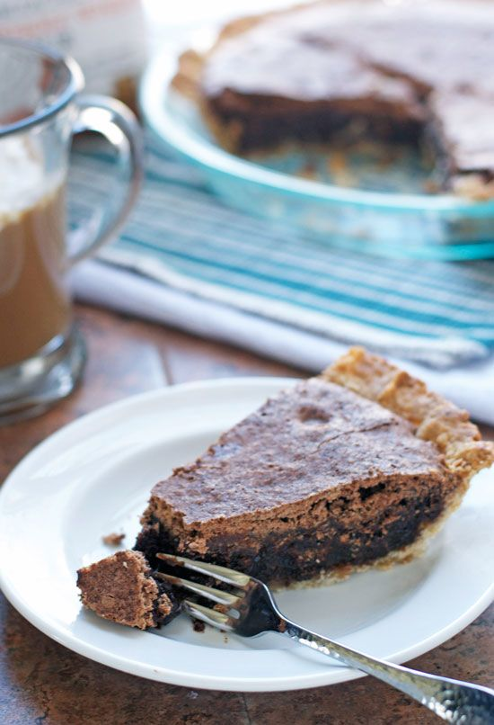 Irish Whiskey Brownie Pie