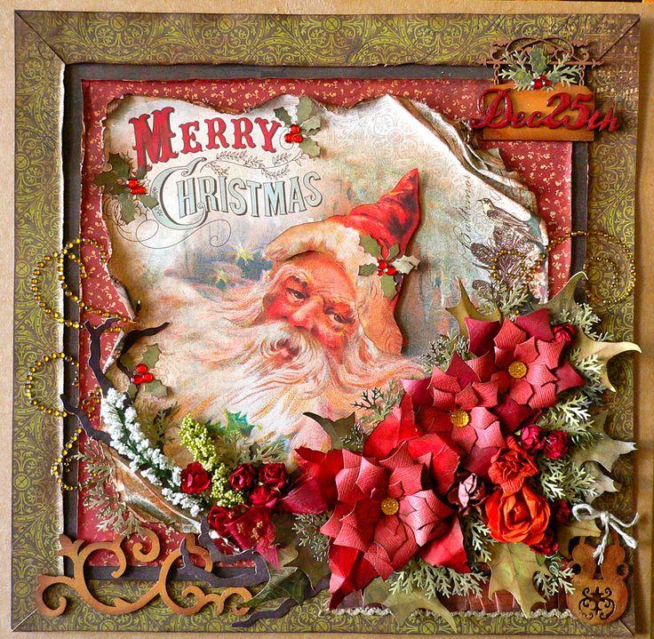 Merry Christmas Santa-turtledove-layout-Adriana Bolzon