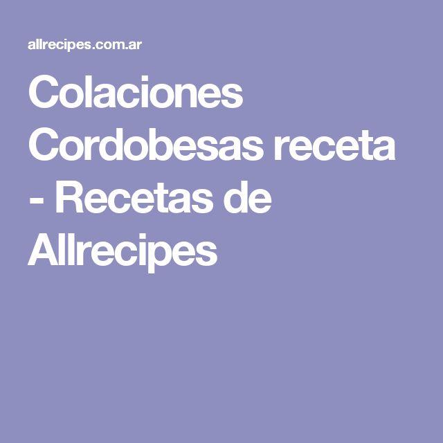Colaciones Cordobesas receta - Recetas de Allrecipes