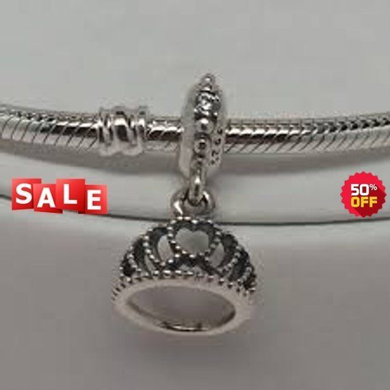 447c5e95a Pandora Charms Hearts Tiara Dangle Charm Clear #supplies @EtsyMktgTool  #pandoratieradangle #pandoratieracharm #pandoracharms
