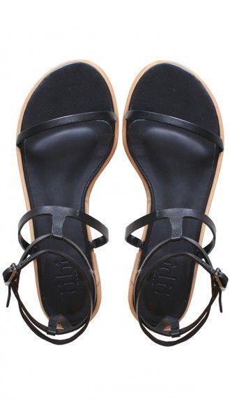Sandalias negras #black #sandals #flats