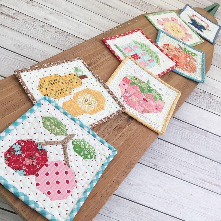 Bee In My Bonnet: Farm Girl Friday quilt blocks - Week Nine!